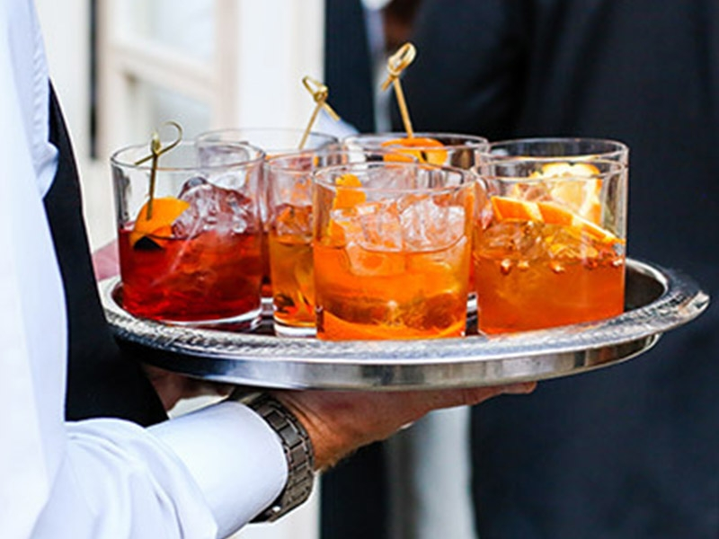 Private Party cocktails being served